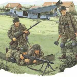 Fallschirmjäger Bat. 500 (Drvar´44)