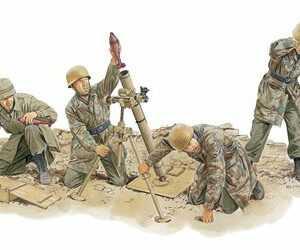 Fallschirmjäger 8cm Mortar Team (Italy 44)