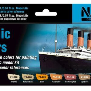 Titanic - Farb-Set