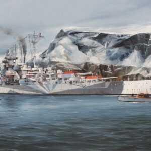 DKM Tirpitz - German Battleship