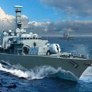 HMS TYPE 23 Frigate  Westminster (F237)