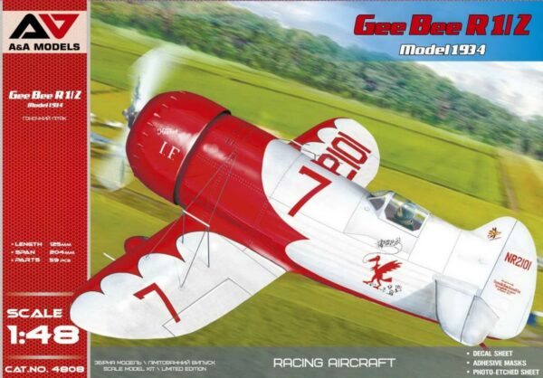 Gee Bee R1/R2 ( 1934-35 version) racing aircraft