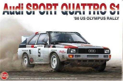 Audi Spot Quattro S1 - ´86 US Olympus Rally