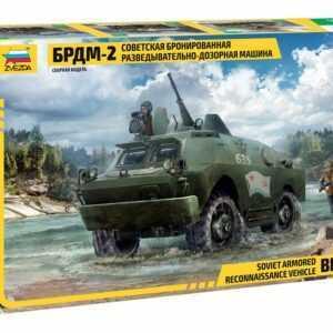 BRDM-2 Sov. arm. reconnaissance vehicle