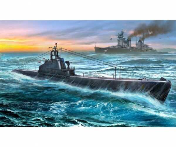 Soviet WWII Shchuka class submarine