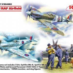 WWII RAF Airfield (Spitfire Mk.IX