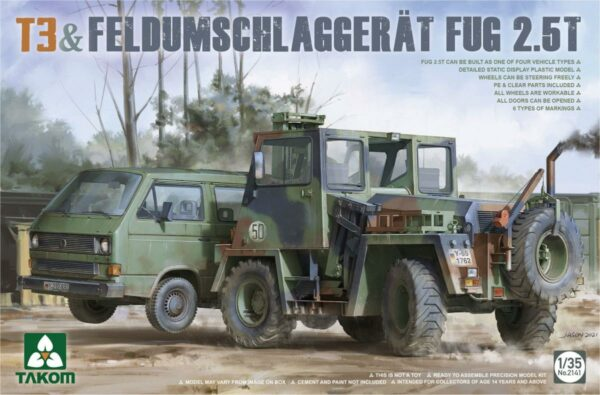 T3+ Feldumschlaggerät FUG 2.5t