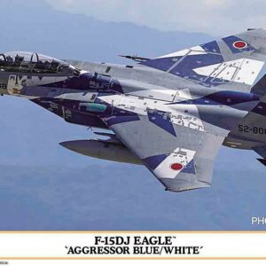 F-15DJ Eagle Aggressor blue & white