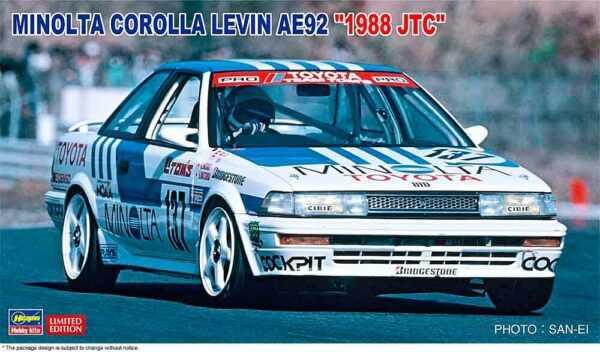 Minolta Corolla Levin AE92 1988 JTC
