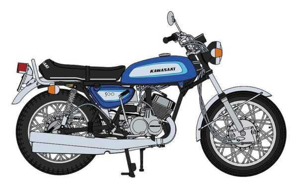 Kawasaki 500-SS Mach III