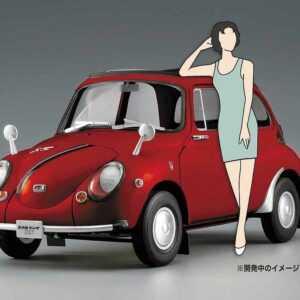 Subaru 360 Young ss mit 60er Jahre Girl