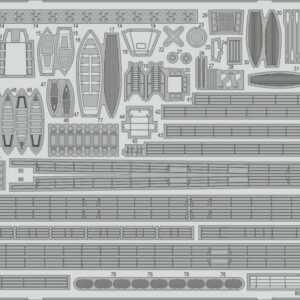 HMS York - Railings [Trumpeter]