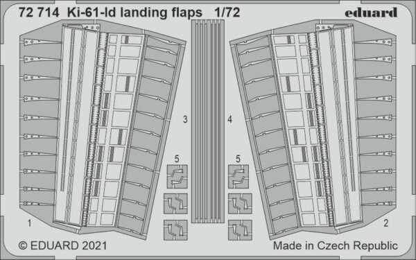 Ki-61-Id - Landing flaps [Tamiya]