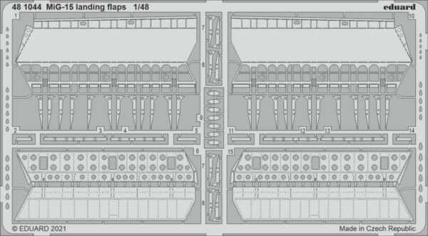 MiG-15 - Landing flaps [Bronco]