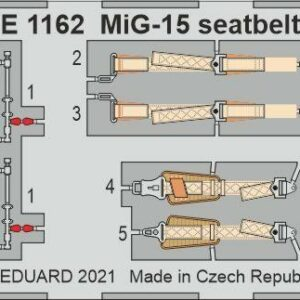 MiG-15 - Seatbelts STEEL [Bronco]