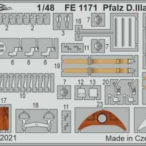 Pfalz D.IIIa - Weekend [Eduard]