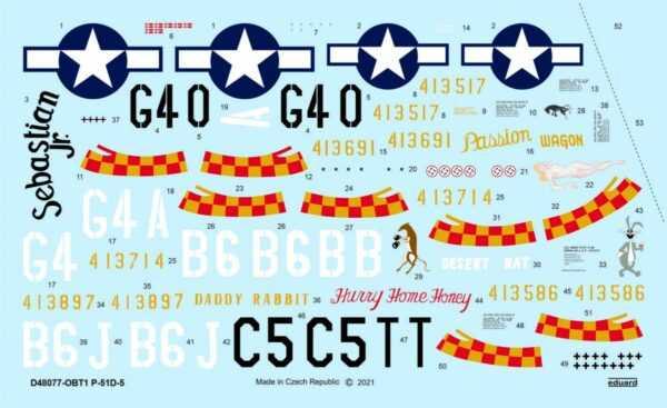 P-51D-5 357th FG [Eduard]