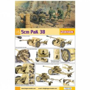 WWII 5cm Pak 38