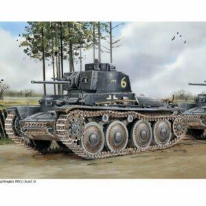 Pz.Kpfw. 38(t) Ausf.G w/Interior