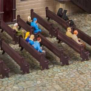 7 Kirchenbänke