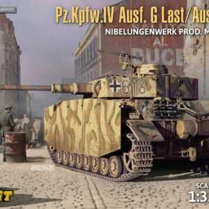 Pz.Kpfw.IV Ausf.G-Last/H-Early - Nibelungenwerk Prod (May-June1943) 2in1