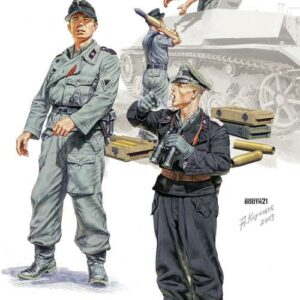 German SPG Crew