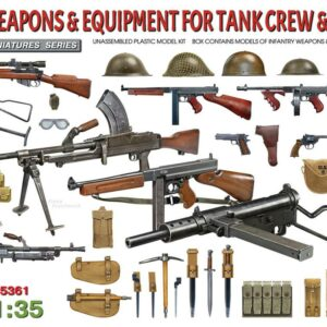 British Weapons & Equipment for Tank Crew & Infantry