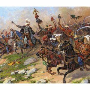 Turkish cavalry 17th century