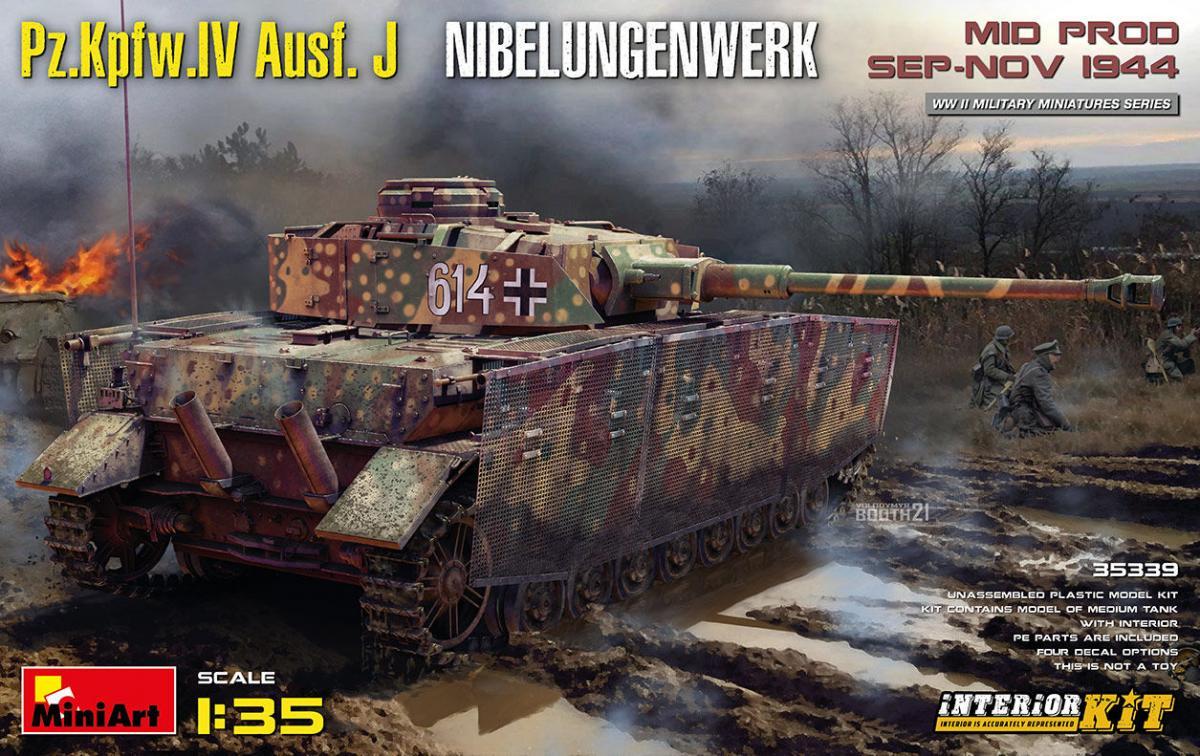 Pz.Kpfw.IV Ausf. J Nibelungenwerk. Mid Prod. (Sep-Nov 1944) – Interior Kit