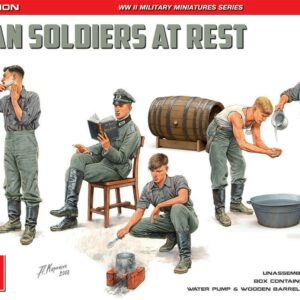 German Soldier at Rest - Special Edition