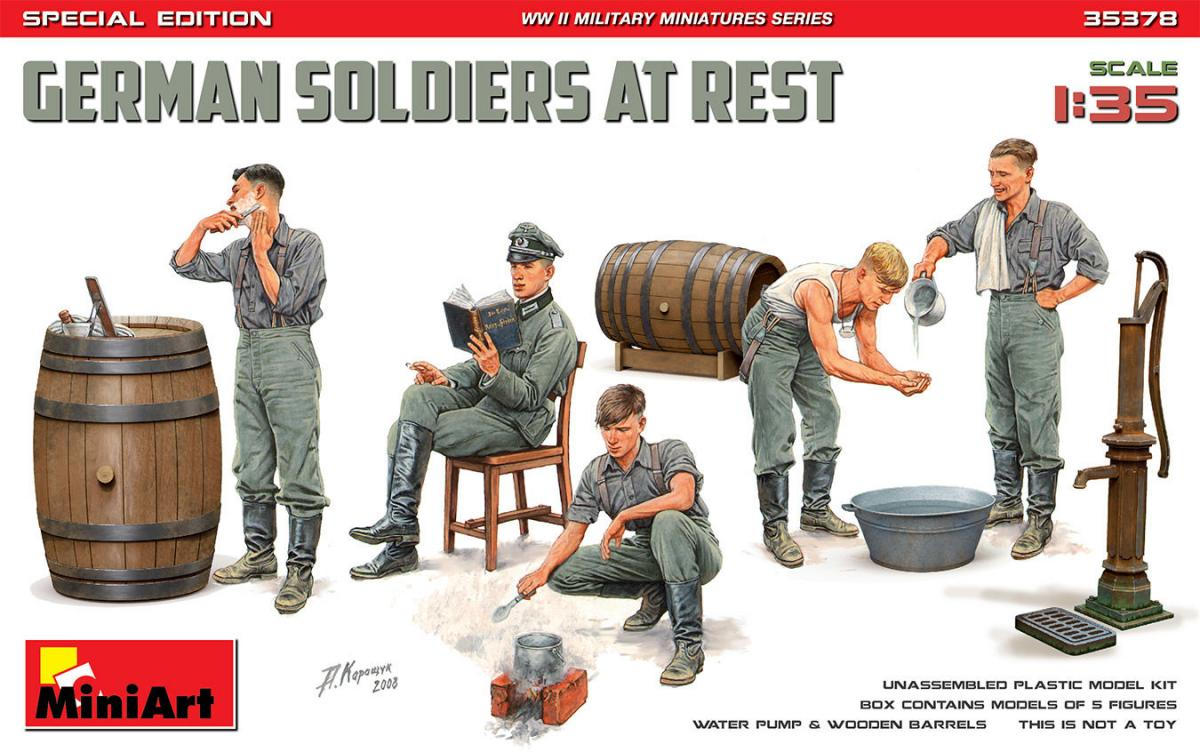 German Soldier at Rest – Special Edition