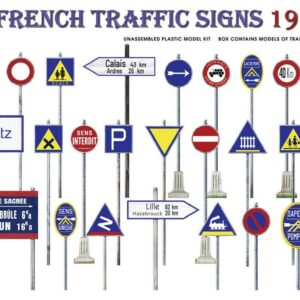 French Traffic Signs 1930-40s
