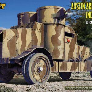 Austin Armoured Car Indian Pattern - British Service - Interior Kit