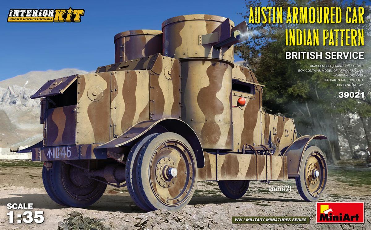 Austin Armoured Car Indian Pattern – British Service – Interior Kit