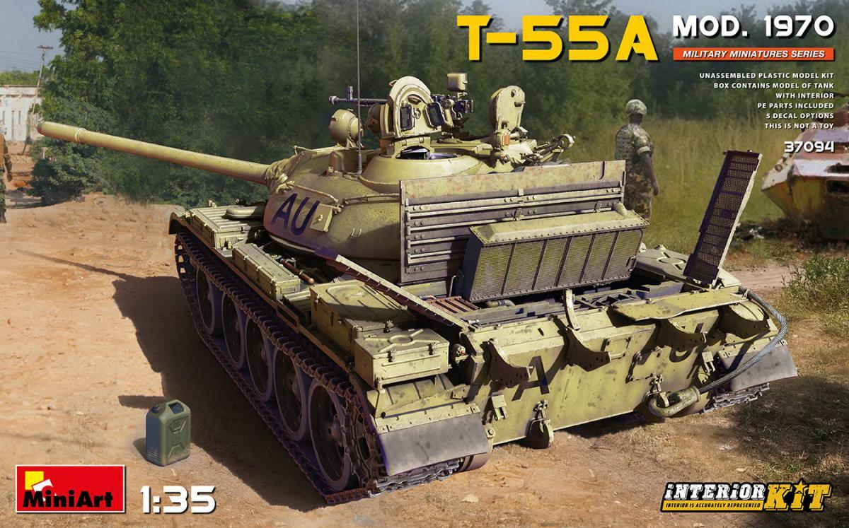T-55A Mod. 1970 Interior Kit